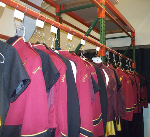 band uniform organizer